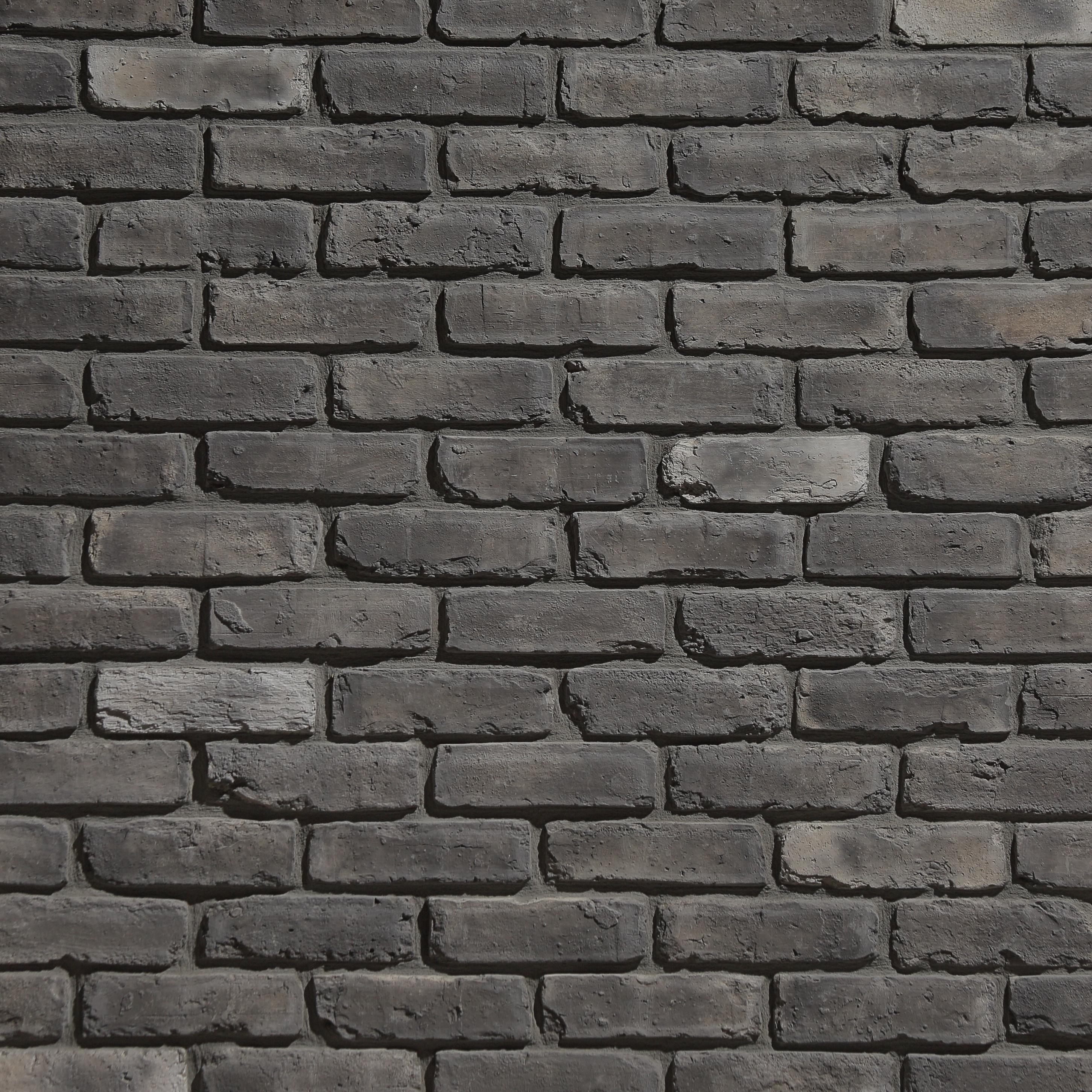 Brewster Wallcovering Co FD23288 Painted Brick Grey Brick ...