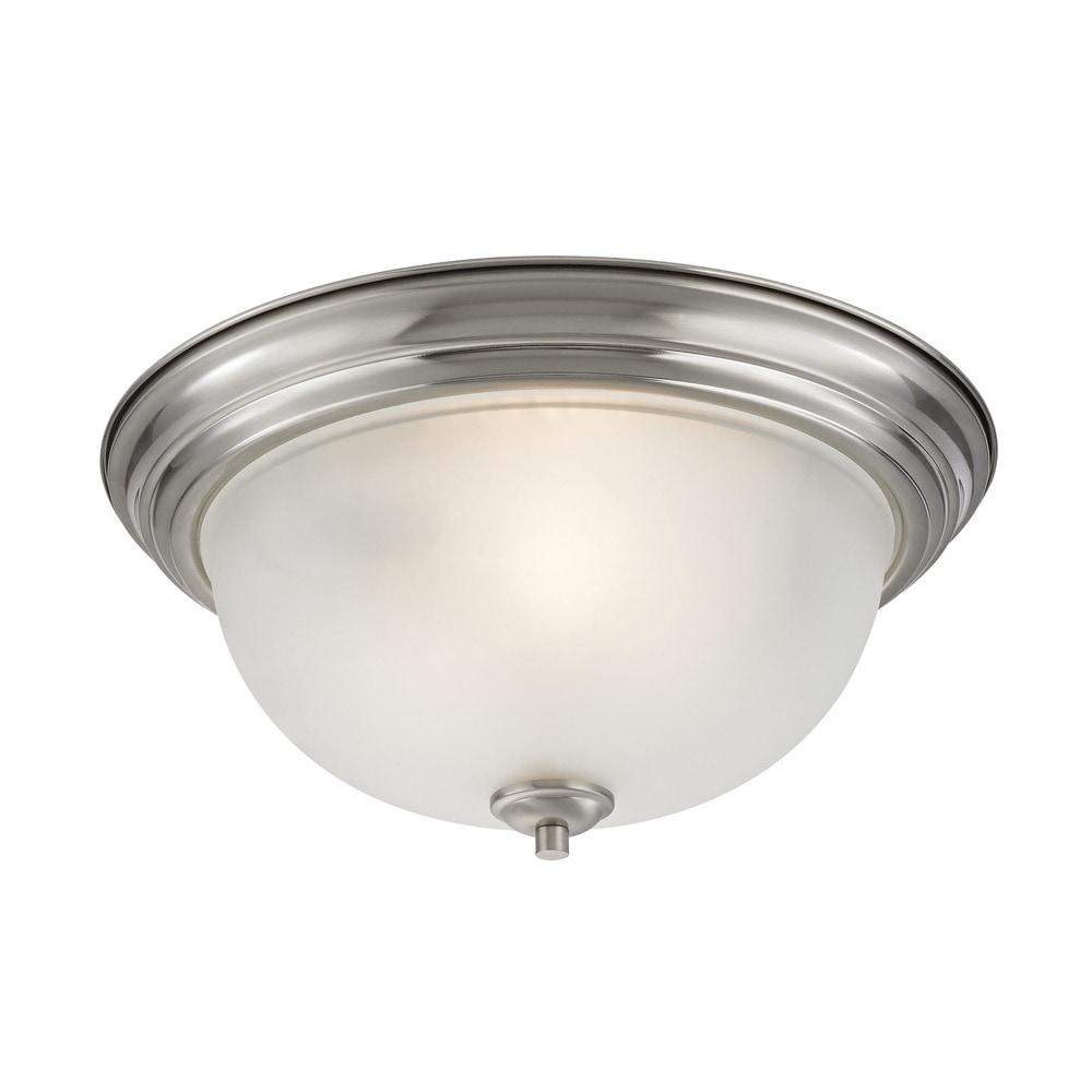 Ceiling Fans Western Cape: Elk Bristol Lane Ceiling Lighting Brushed Nickel / 3