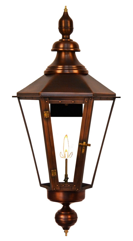 Wall Mount Propane Lamp : The Coppersmith Eslava Street Outdoor Lighting 40