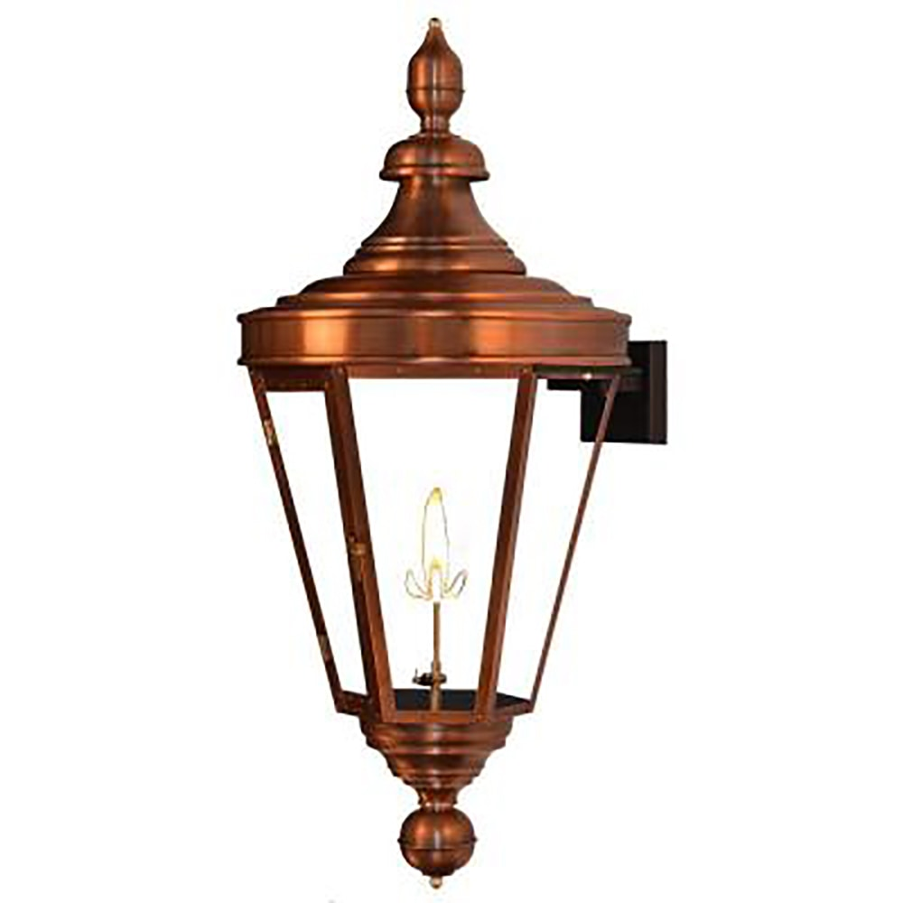 Natural Gas Wall Lamps : The Coppersmith Royal Street Outdoor Lighting 35