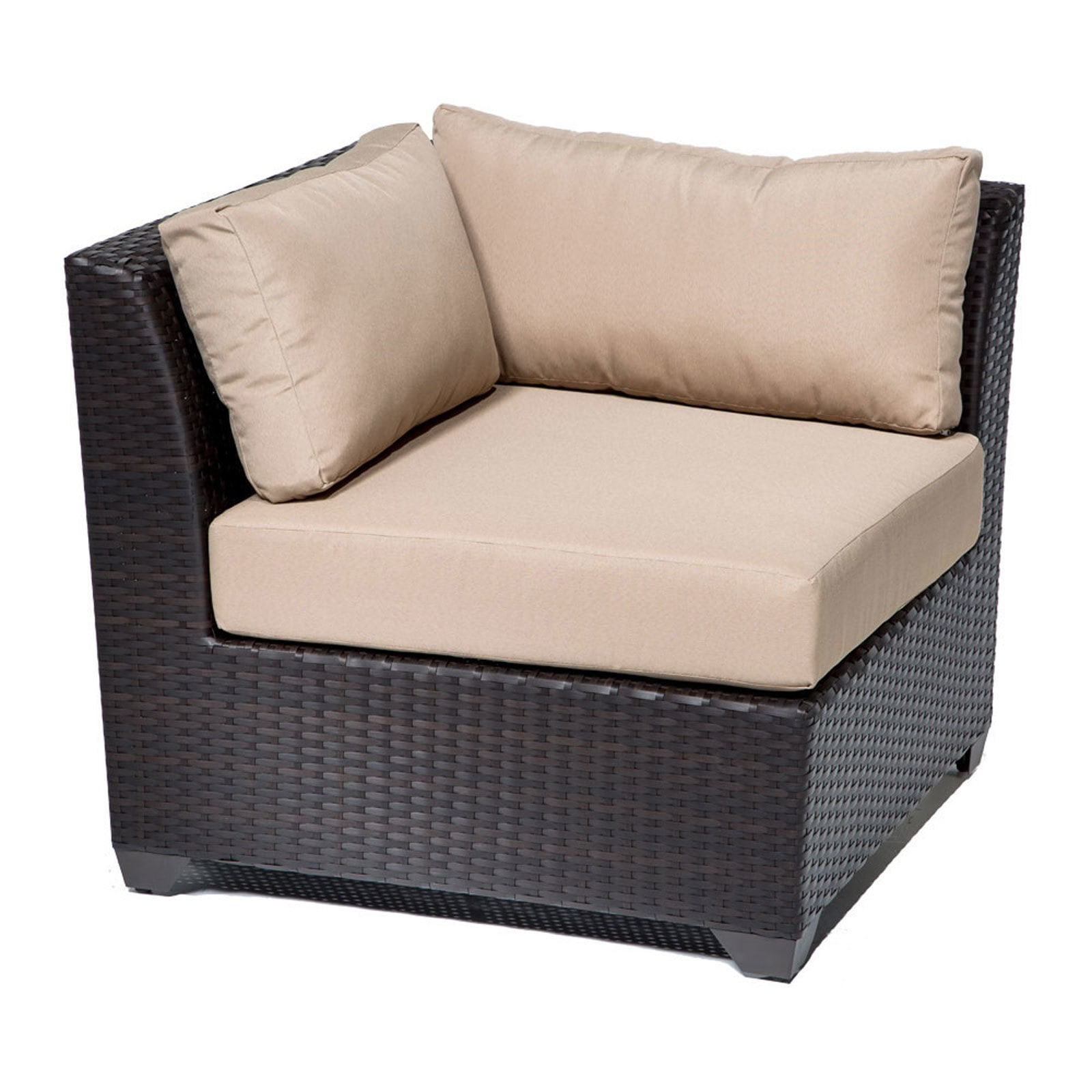 TK Classics Barbados Collection Outdoor Wicker Patio Furniture Set