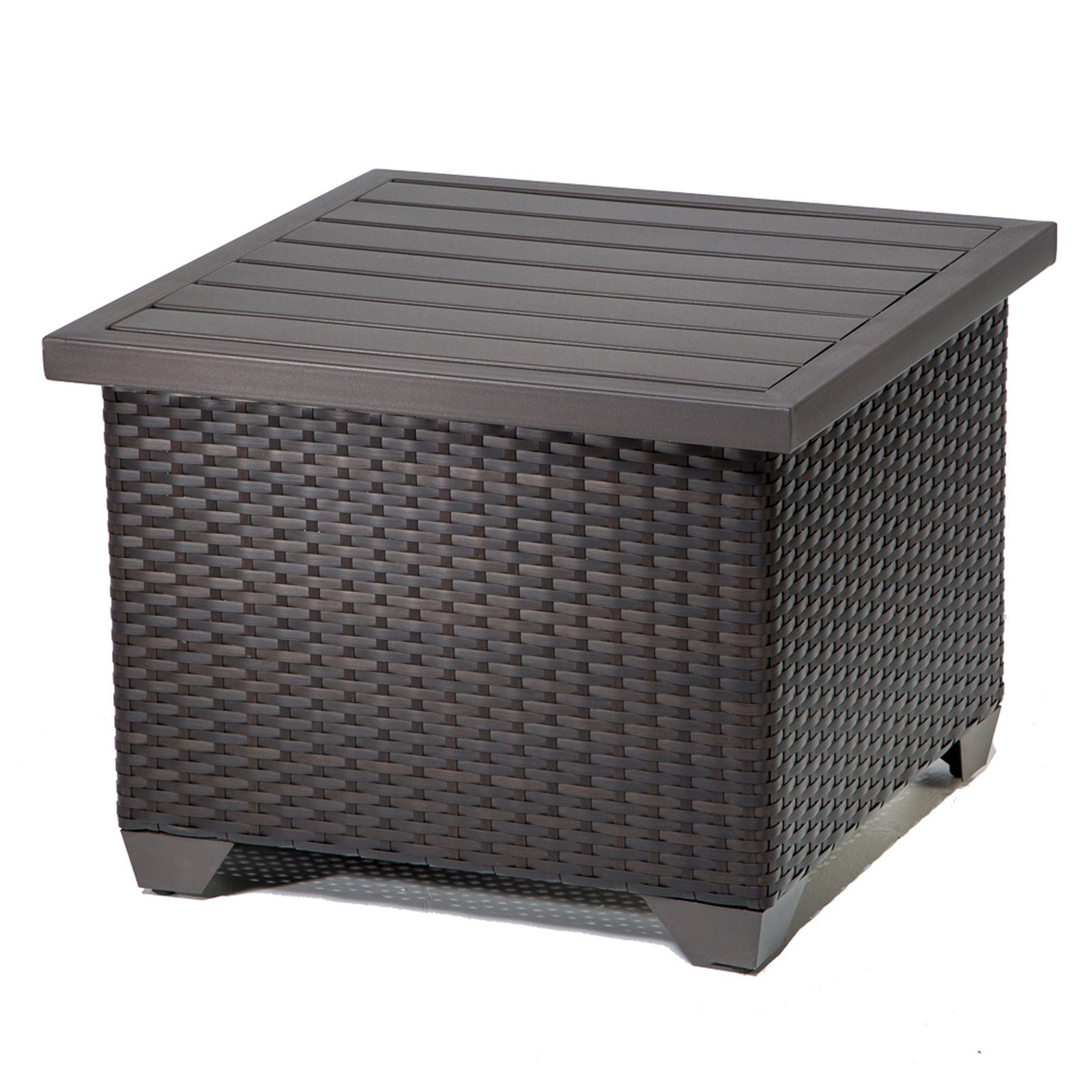 TK Classics Barbados Collection Outdoor Wicker Patio Furniture Set