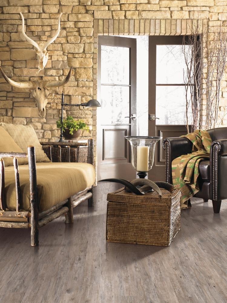 Mohawk Flooring Prosperous Vinyl Wood Plank Weathered