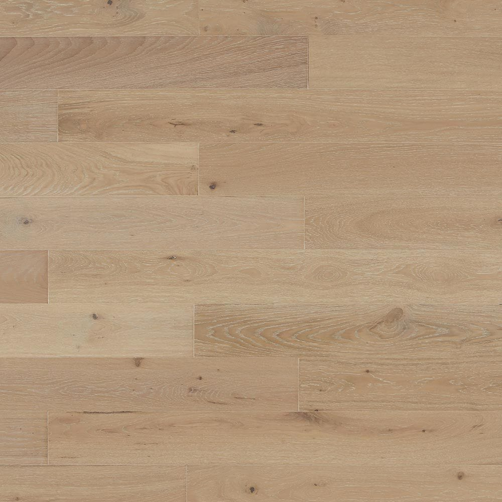 "Whitewash / Oak / 5"" Waterproof Engineered Hardwood Robin Ridge SPC Click-Lock Collection 0"