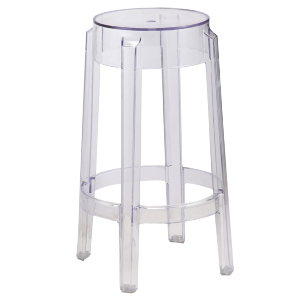 Fine Mod Imports Fine Mod Imports Clear Counter Stool