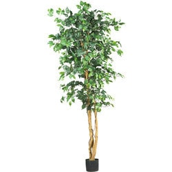 Nearly Natural - 6' Ficus Silk Tree