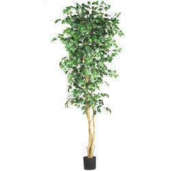 Nearly Natural - 7' Ficus Silk Tree