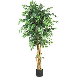 Nearly Natural - 6'  Palace Style Ficus Silk Tree