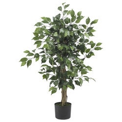 Nearly Natural - 3' Ficus Silk Tree