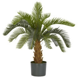 Nearly Natural - Cycas Silk Plant