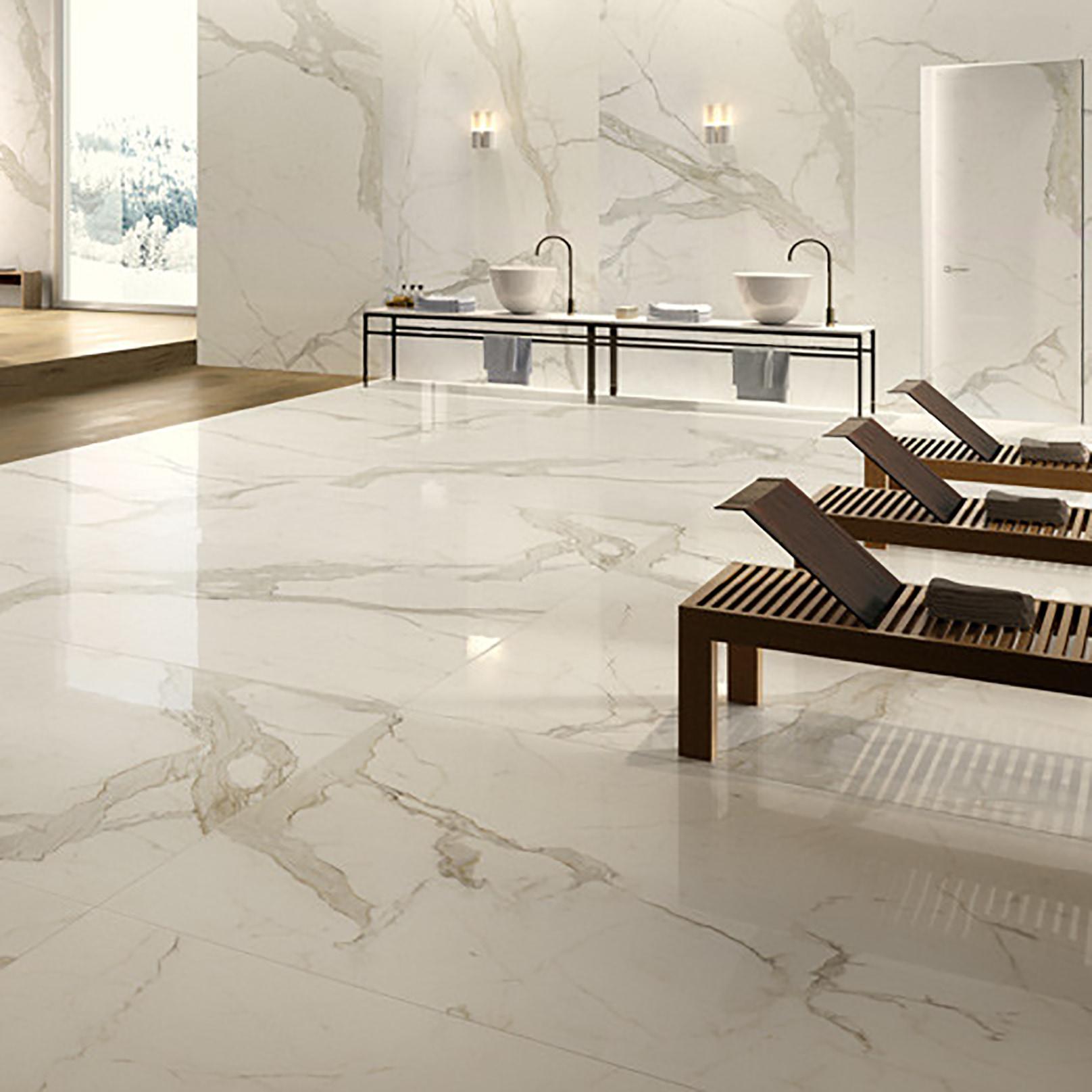 Abolos thin porcelain calacatta polished 3x6 dailygadgetfo Choice Image