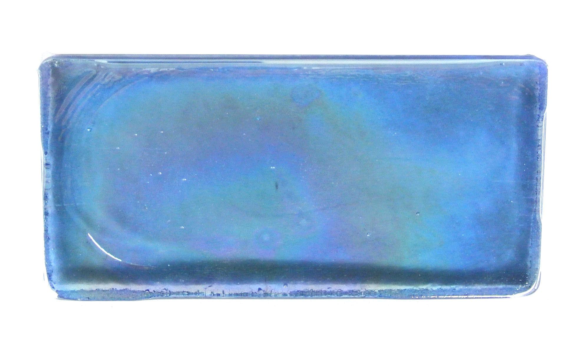 "Sapphire Rectangle / 2""x4"" Atmosphere 0"