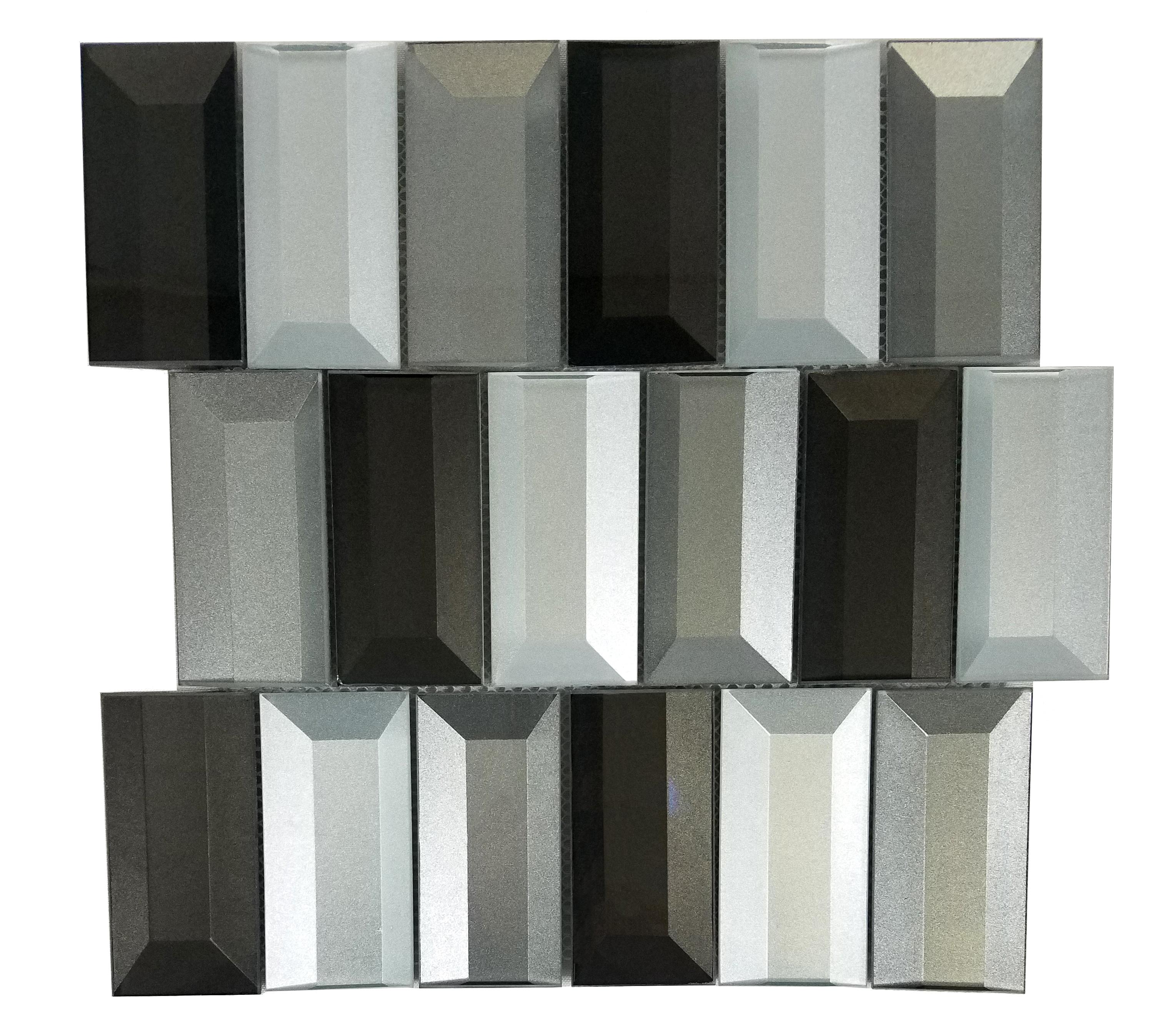 "Electra Brick / 2""x4"" / Glossy Illusion 0"