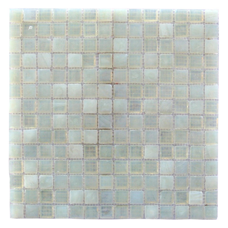 """Pearl White / 3/4""""x3/4"""" Leed Amber 0"""