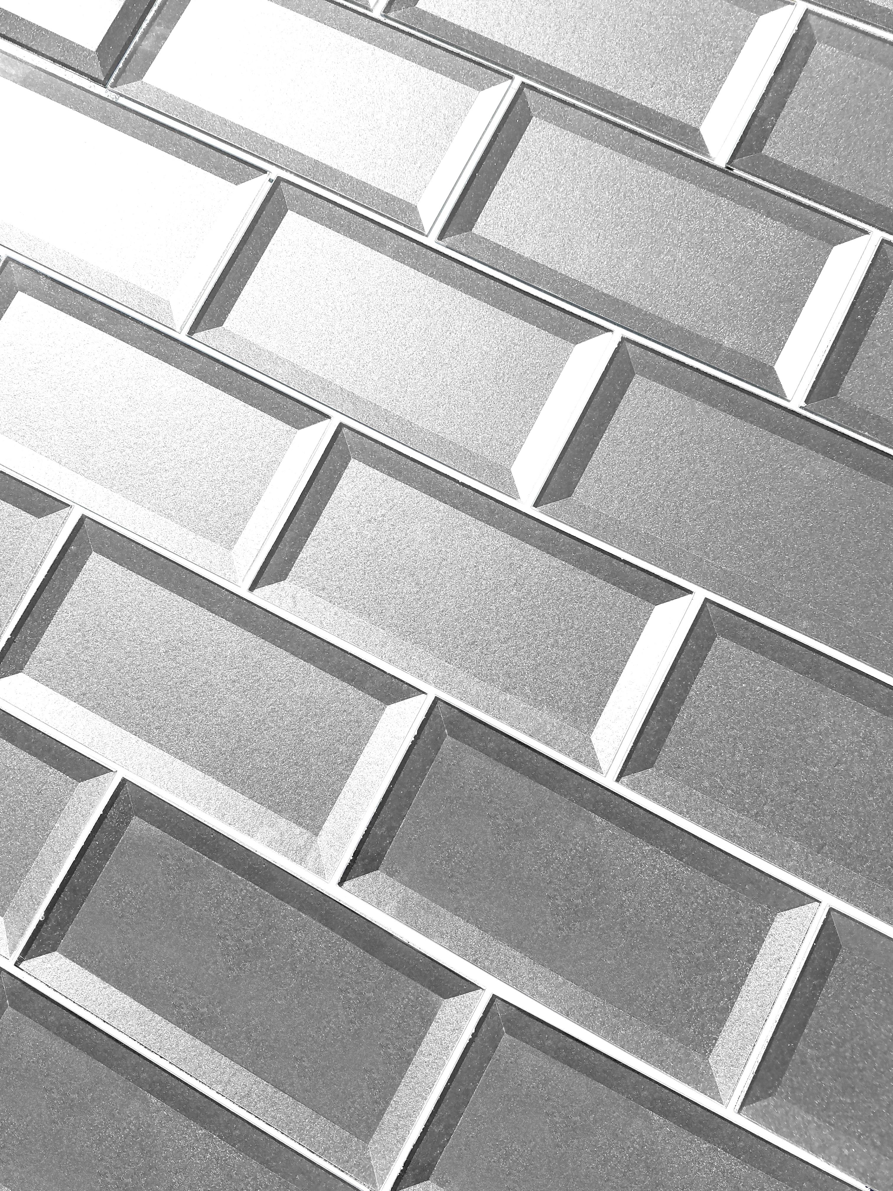 "Silver Beveled / 3""x6"" / Glossy Secret Dimension 0"