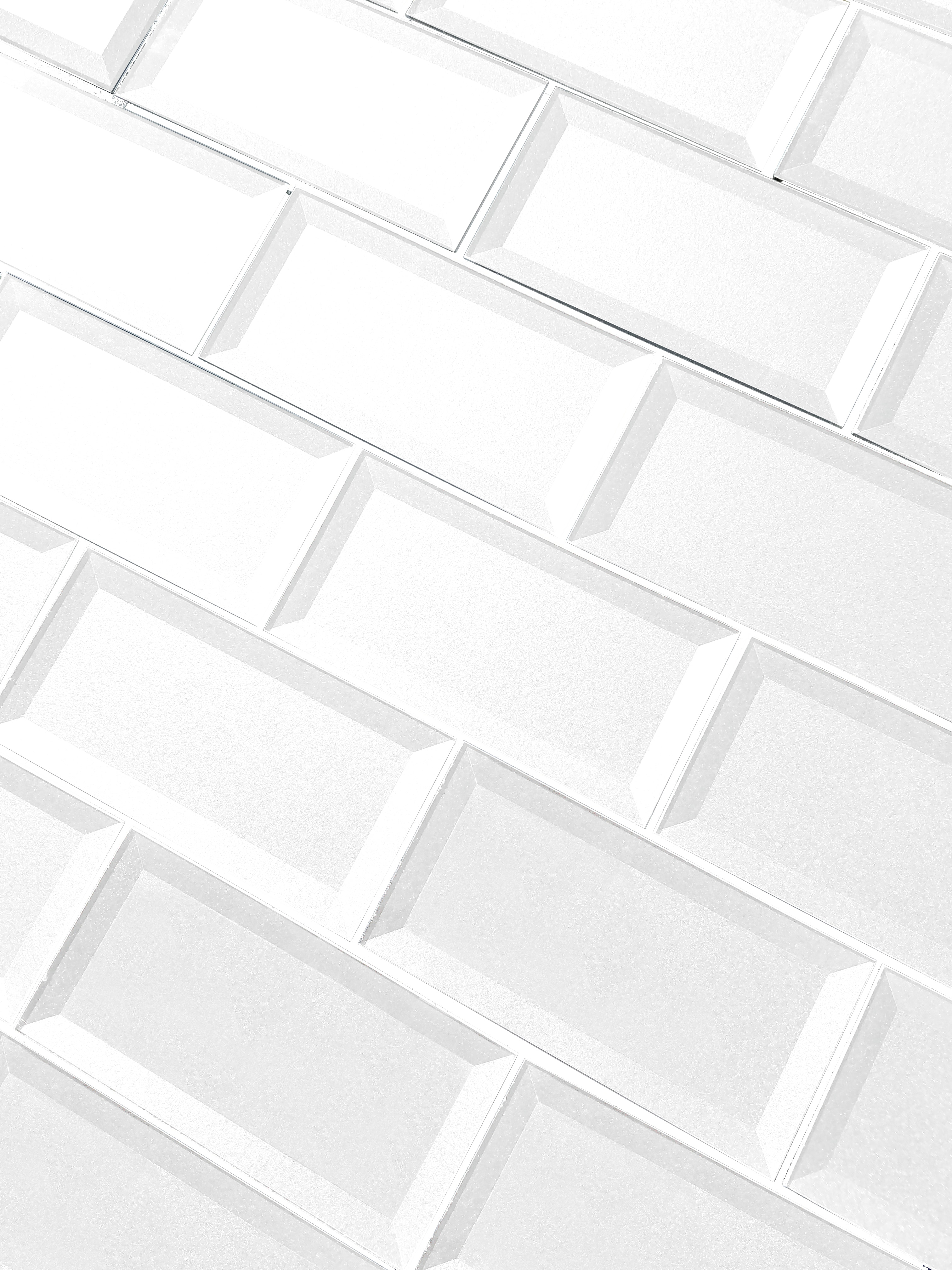 "White Beveled / 3""x6"" / Glossy Secret Dimension 0"
