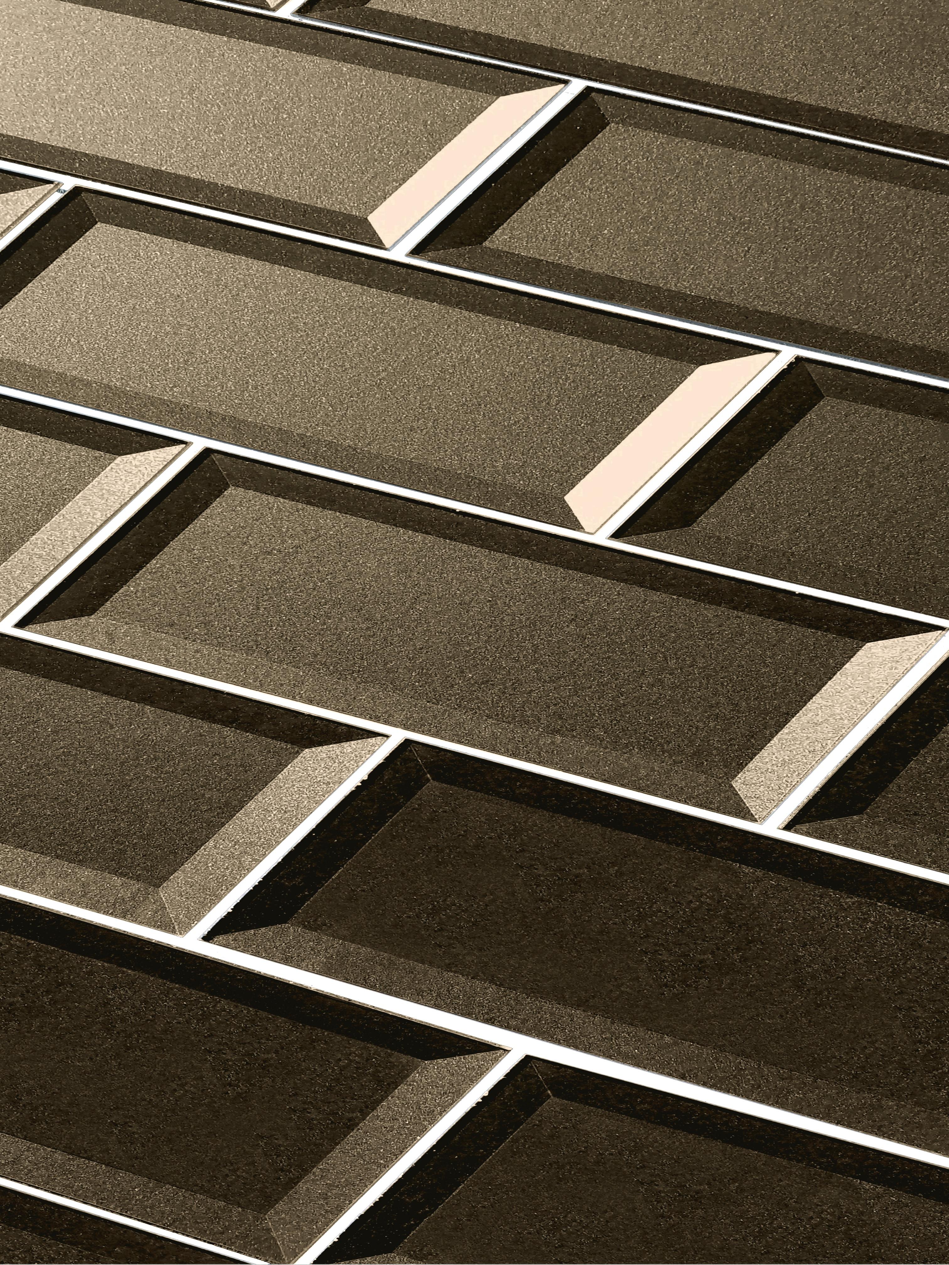 "Bronze Beveled / 3""x12"" / Glossy Secret Dimension 0"