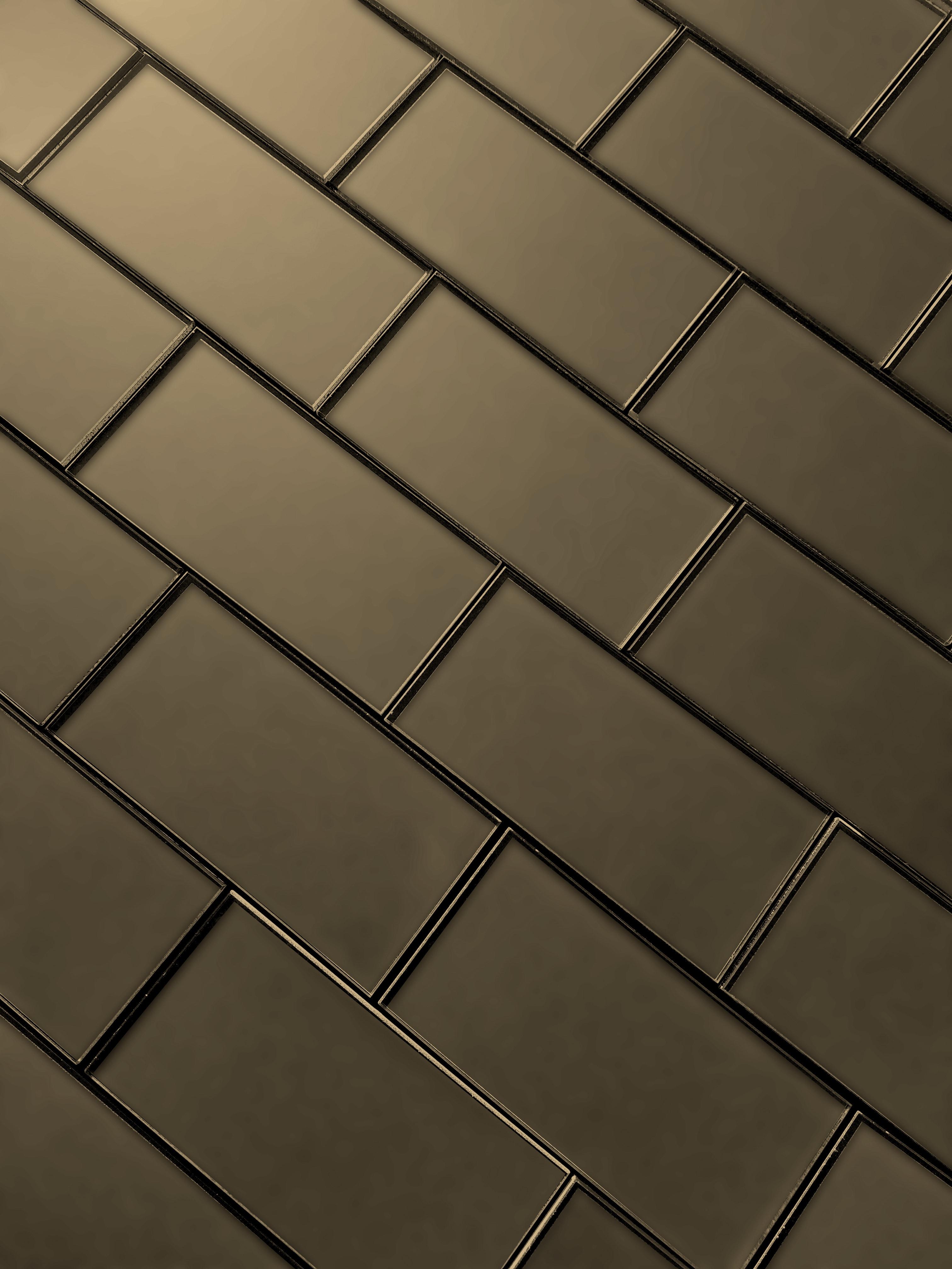 "Bronze Matte / 3""x6"" / Glossy Secret Dimension 0"