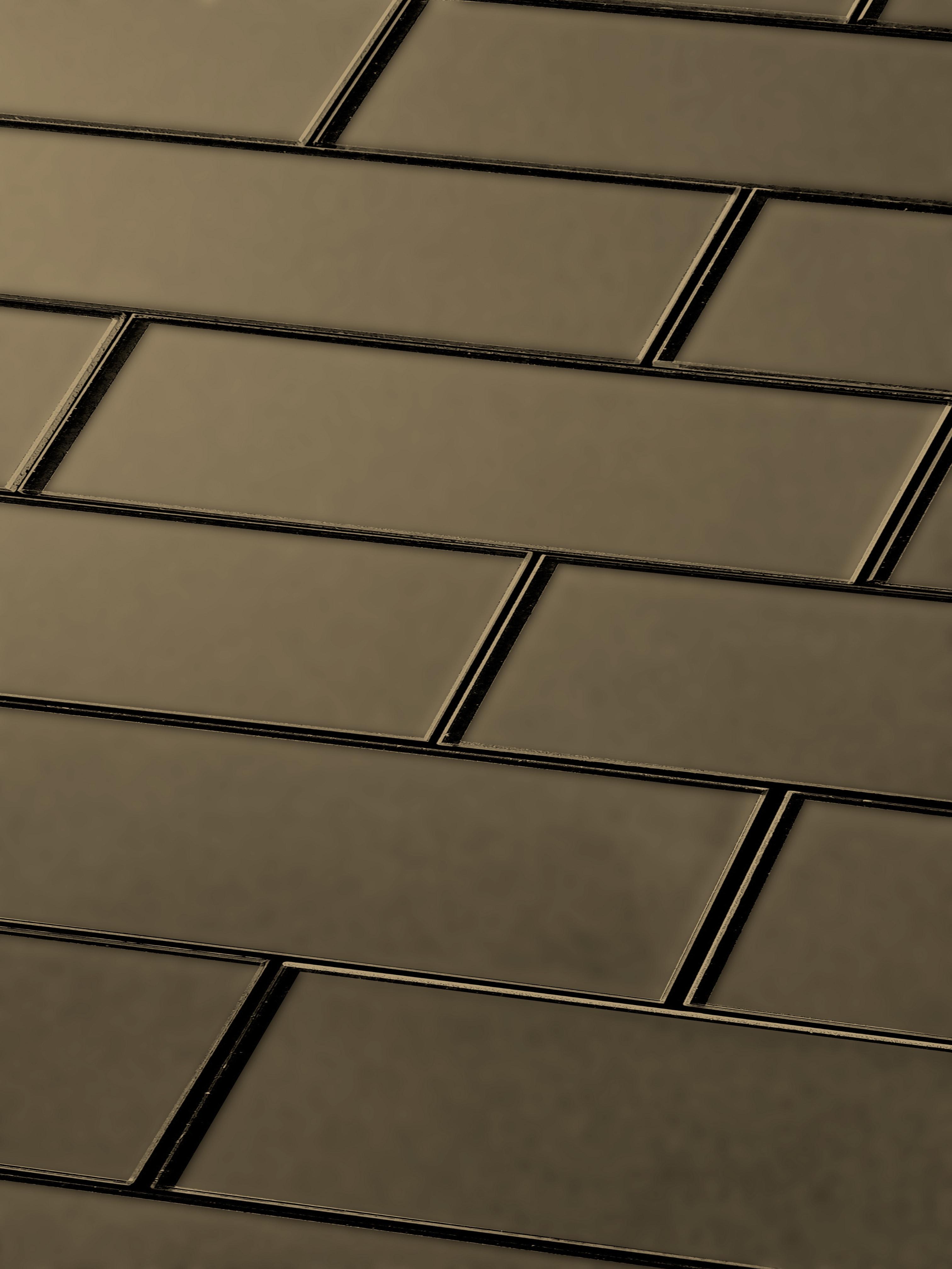 "Bronze Matte / 3""x12"" / Glossy Secret Dimension 0"