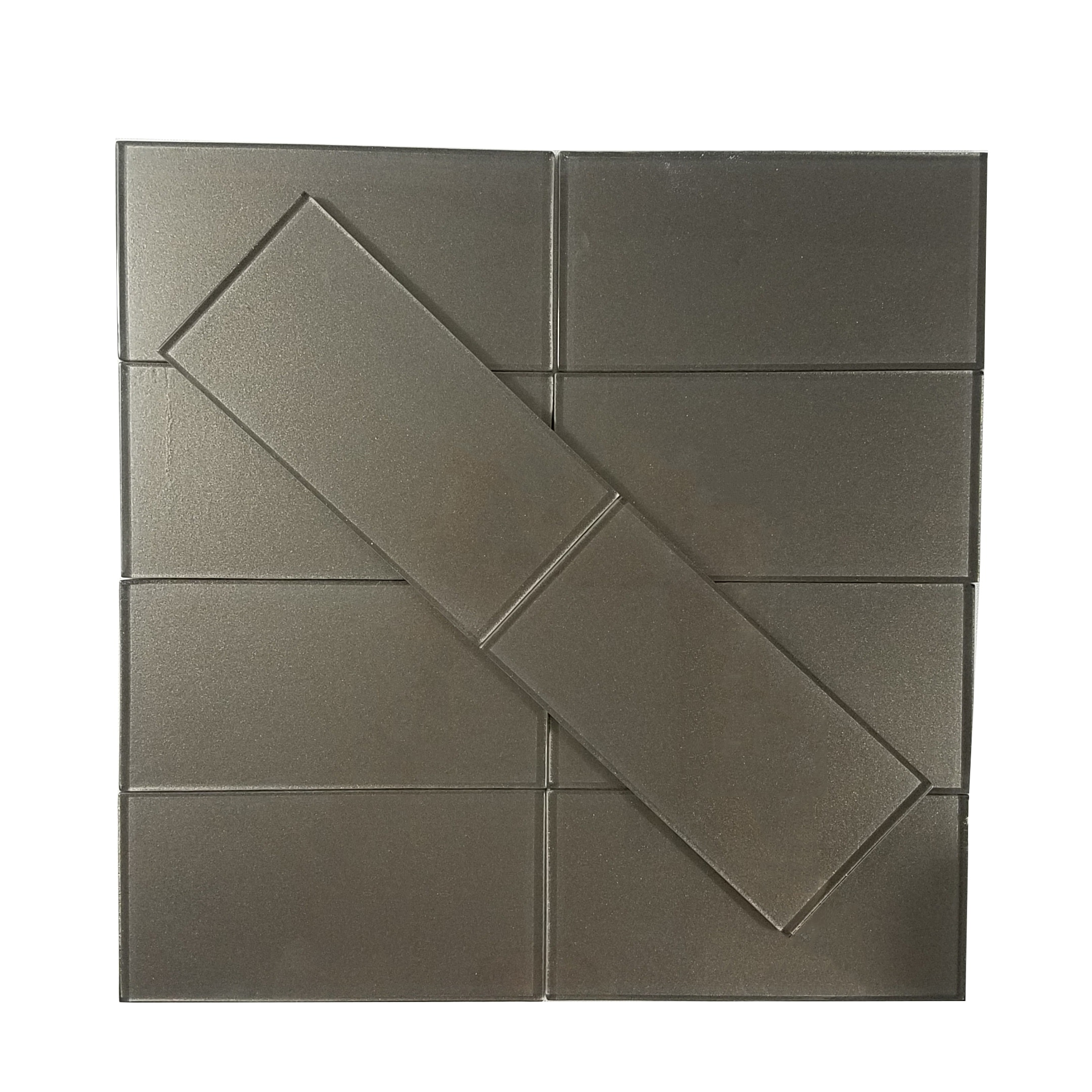 "Amber Bay Flat / 3""x6"" Metallics 0"