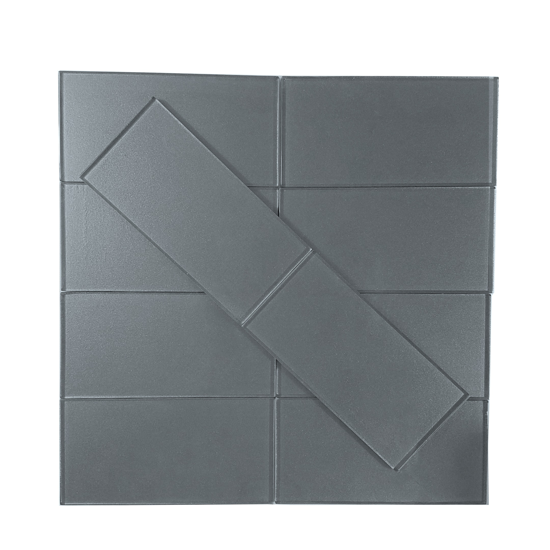 "Carbon Frost Flat / 3""x6"" Metallics 0"