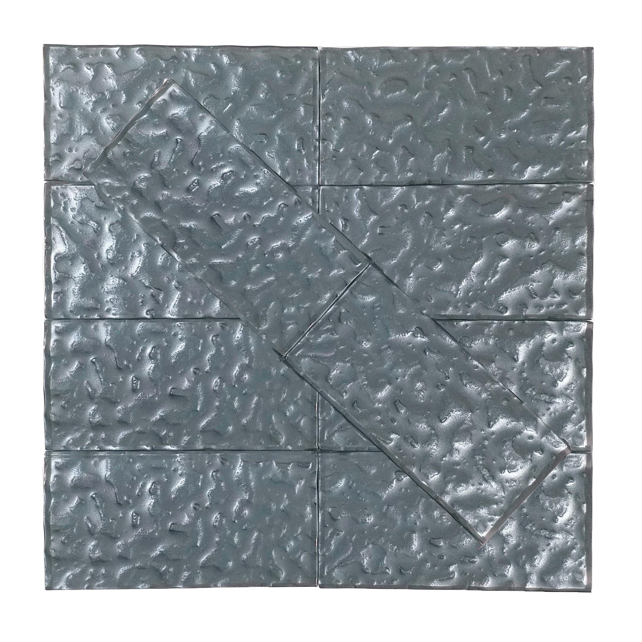 """Carbon Frost Wavy / 3""""x6"""" Metallics 0"""