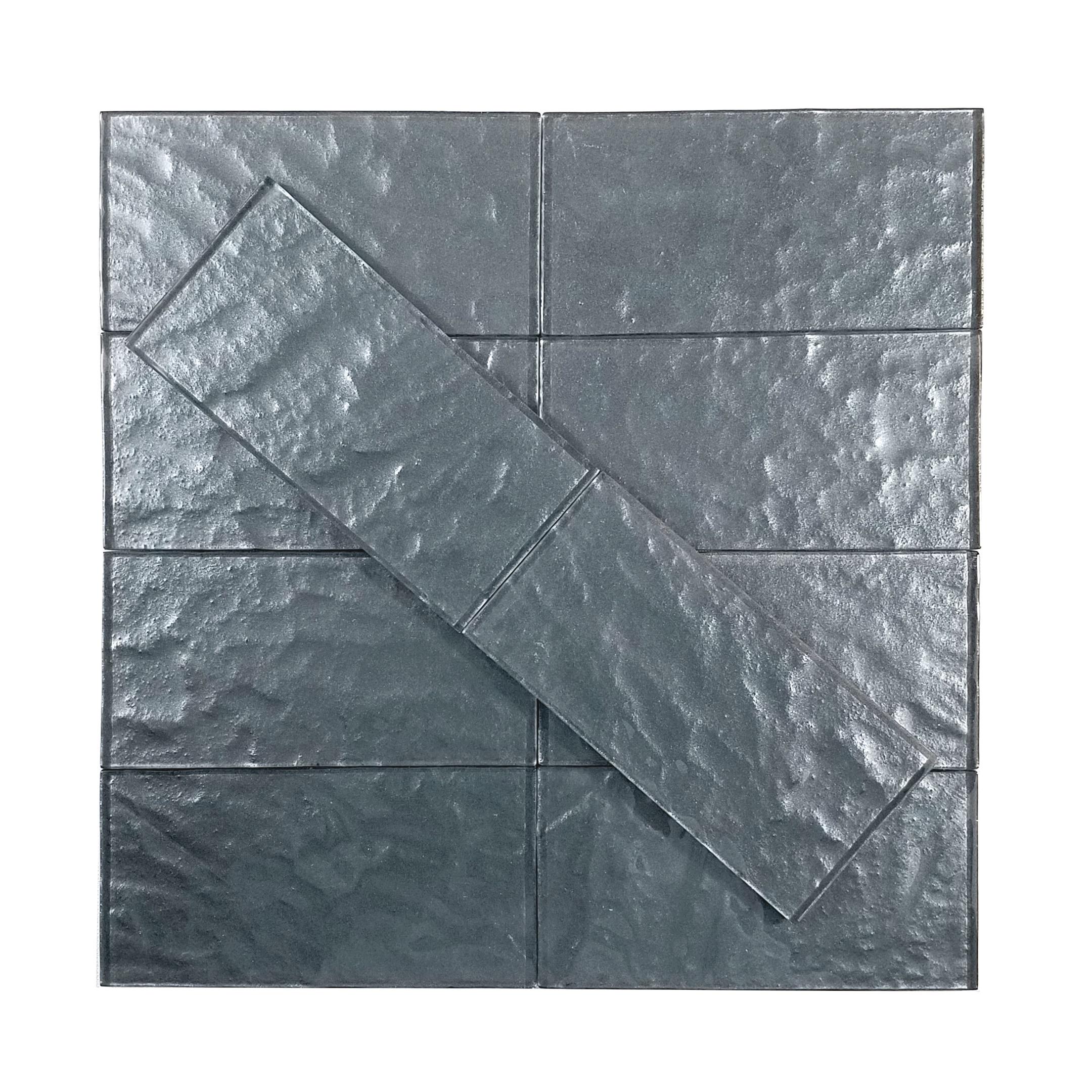 """Carbon Frost Textured / 3""""x6"""" Metallics 0"""