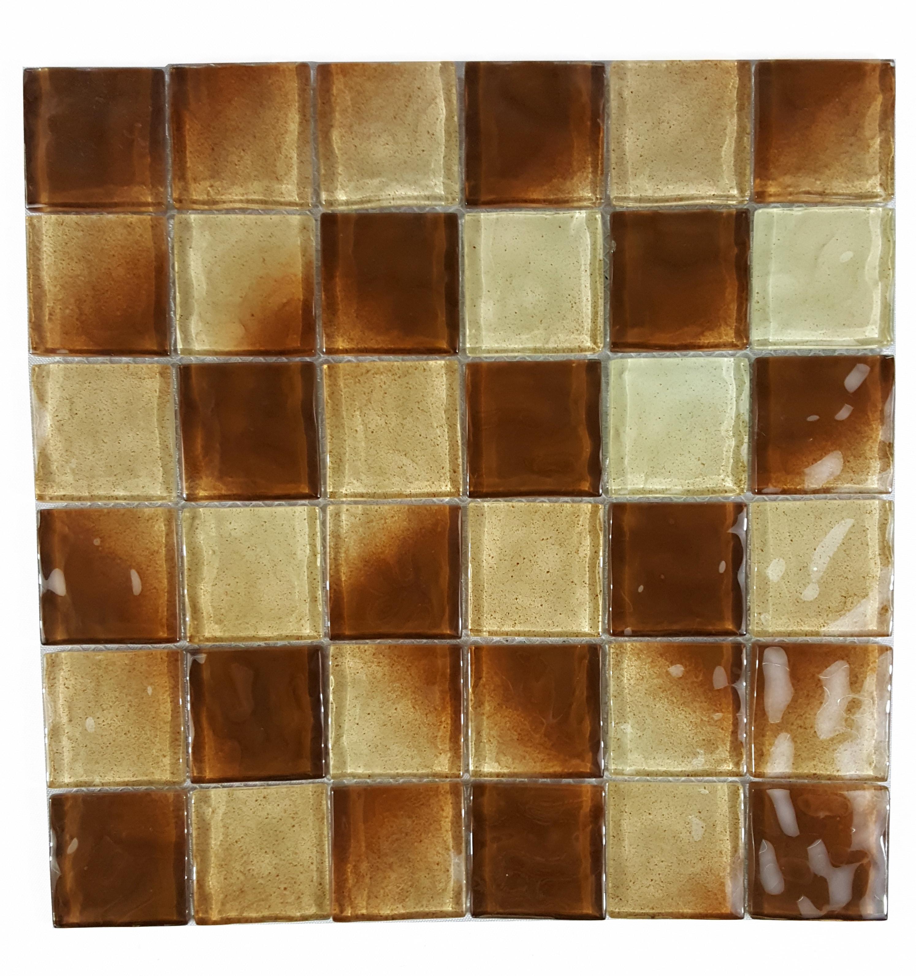 "Chocolate / 2""x2"" Waterfall 0"