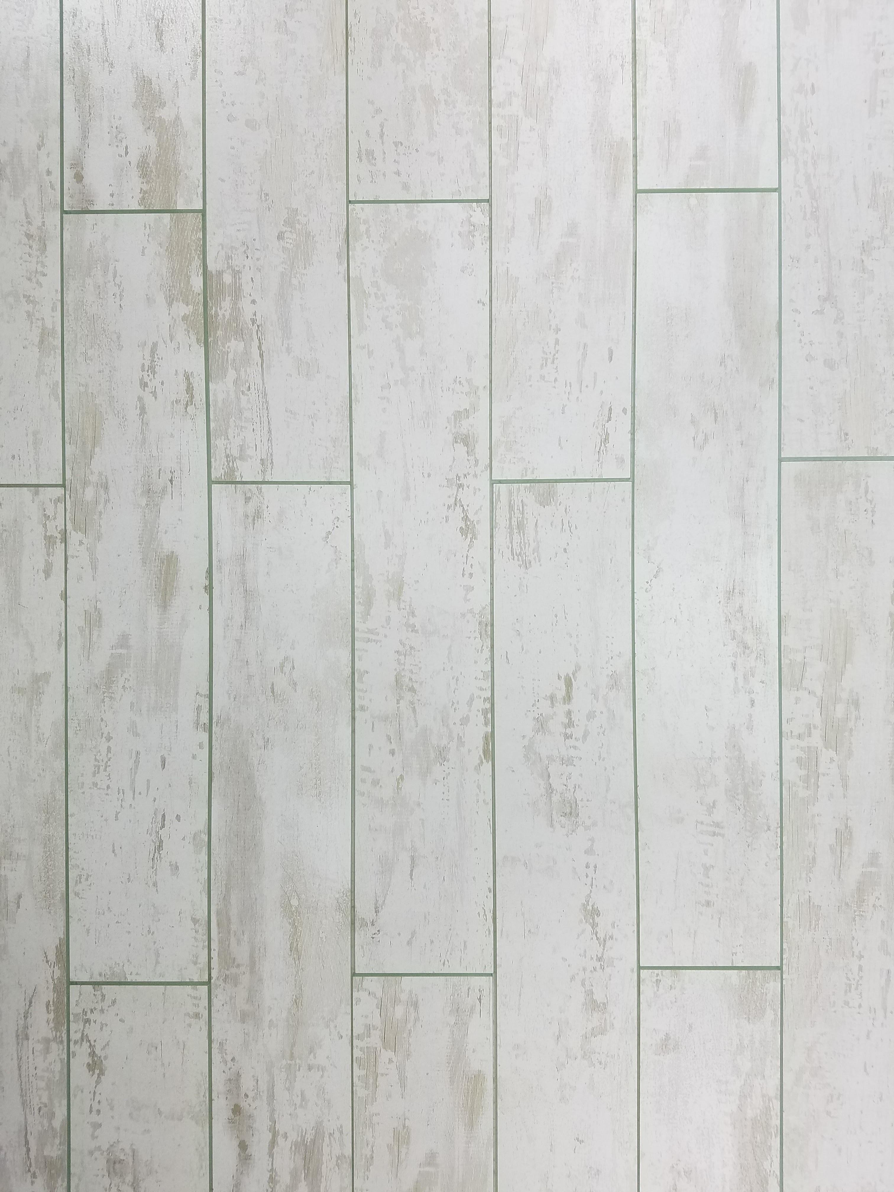 "Birchwood White Straight Edge Glossy / 3""x16"" / Flat Nature Collection 0"
