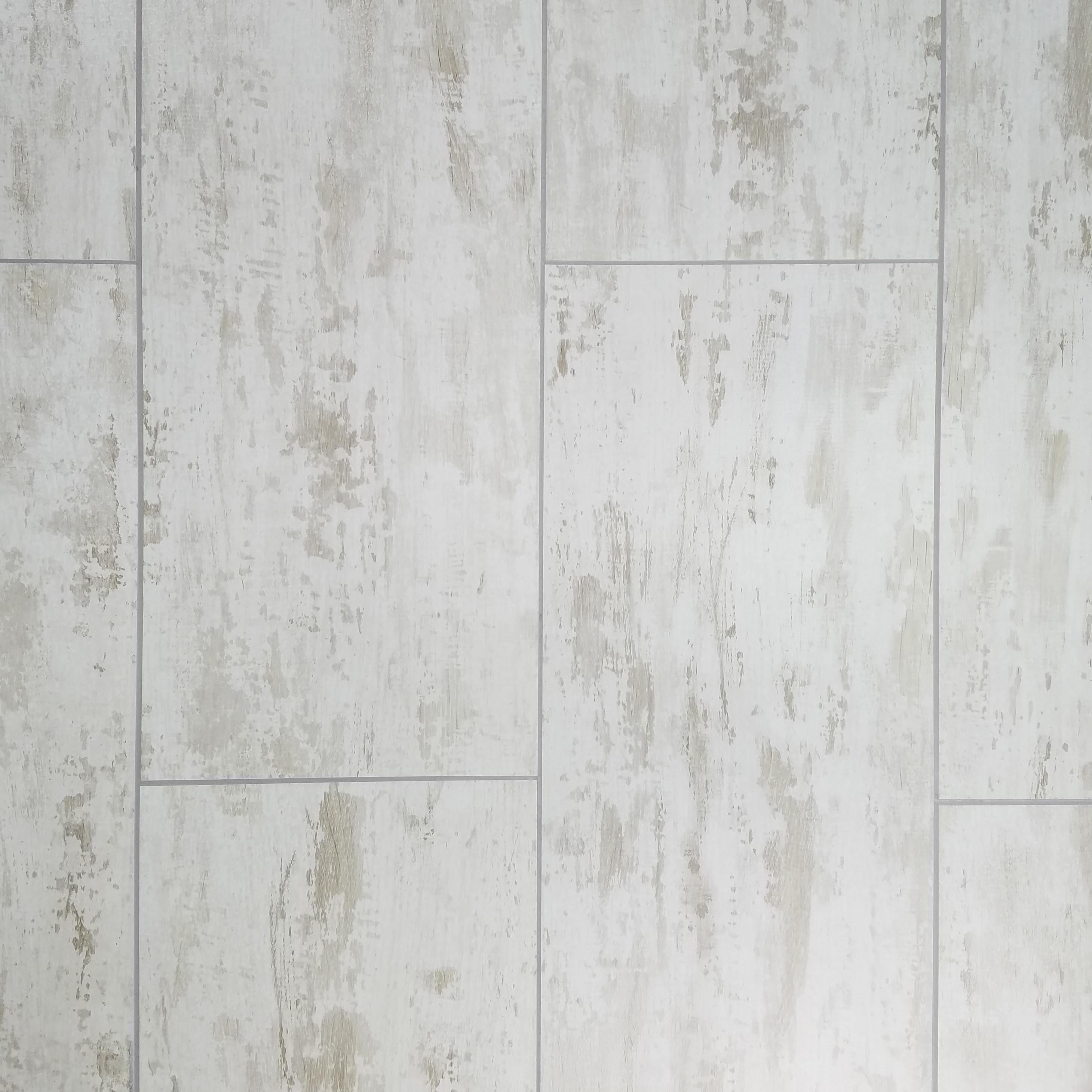 "Birchwood White Straight Edge Glossy / 7""x16"" / Flat Nature Collection 0"