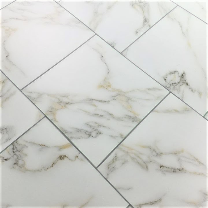 """Calacatta Gold Straight Edge Glossy / 8""""x8"""" / Flat Nature Collection 0"""