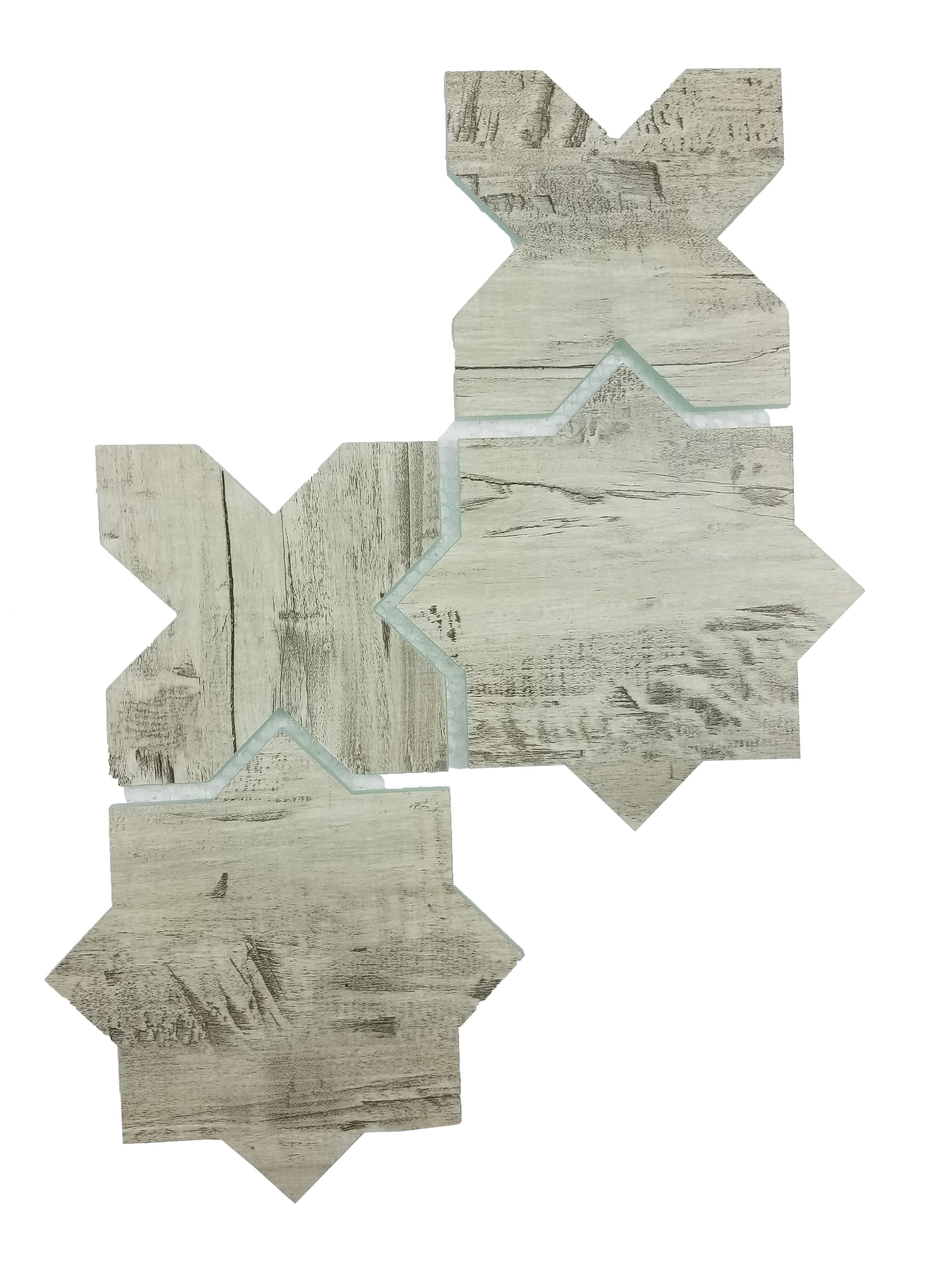 "Birchwood Gray Celestial Waterjet / 15""x9"" / Flat Nature Collection 0"