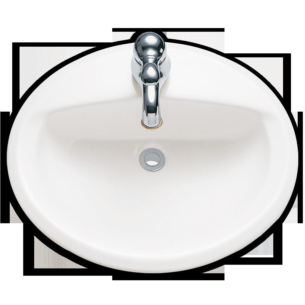 American Standard Aqualyn White Bathroom Sink 0475 047 020