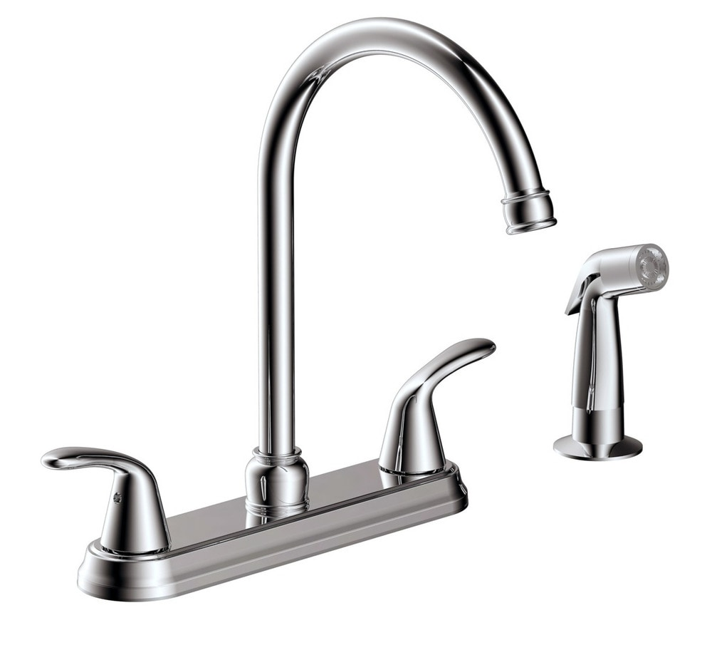 Estora Taviano Two Handle Kitchen Faucet With Side Spray