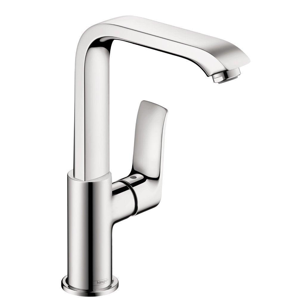 Hansgrohe Metris 230 Single Hole Bathroom Faucet / Chrome / 31087001