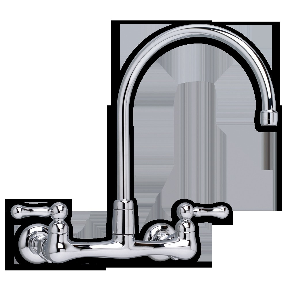 American Standard Heritage Wall Mounted Gooseneck Faucet