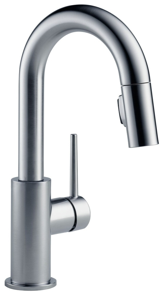Delta Trinsic Single Handle Pull Down Bar Prep With