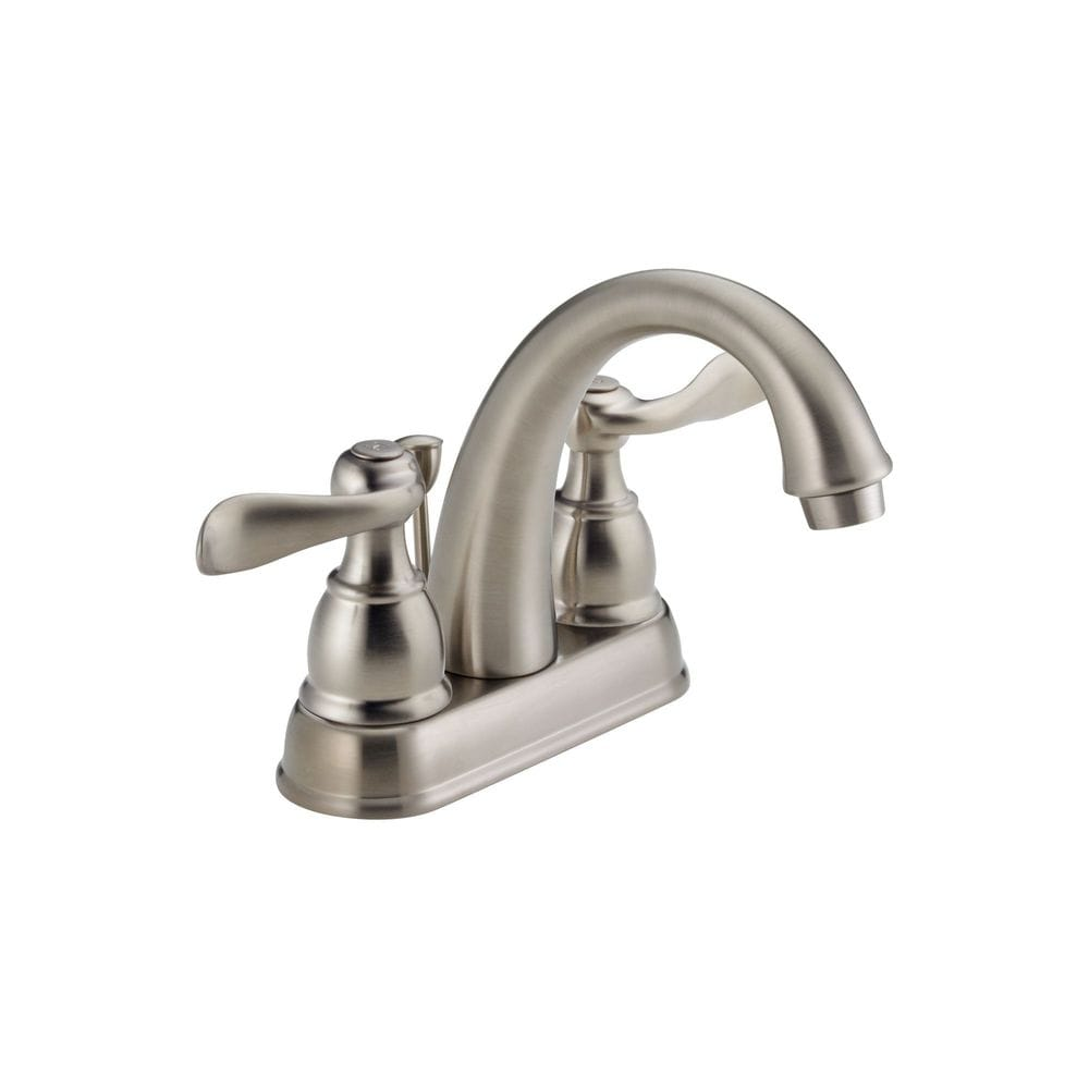 Delta Windemere Double Handle 4 Centerset With Washerless