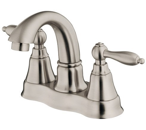 Danze Fairmont Double Handle Centerset With Disc Valve Bathroom Faucet Brushed Nickel D301040bn