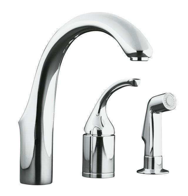 Kohler Forte Kitchen Faucet: Kohler Forte® Single Handle Bar Faucet With Sidespray Bar