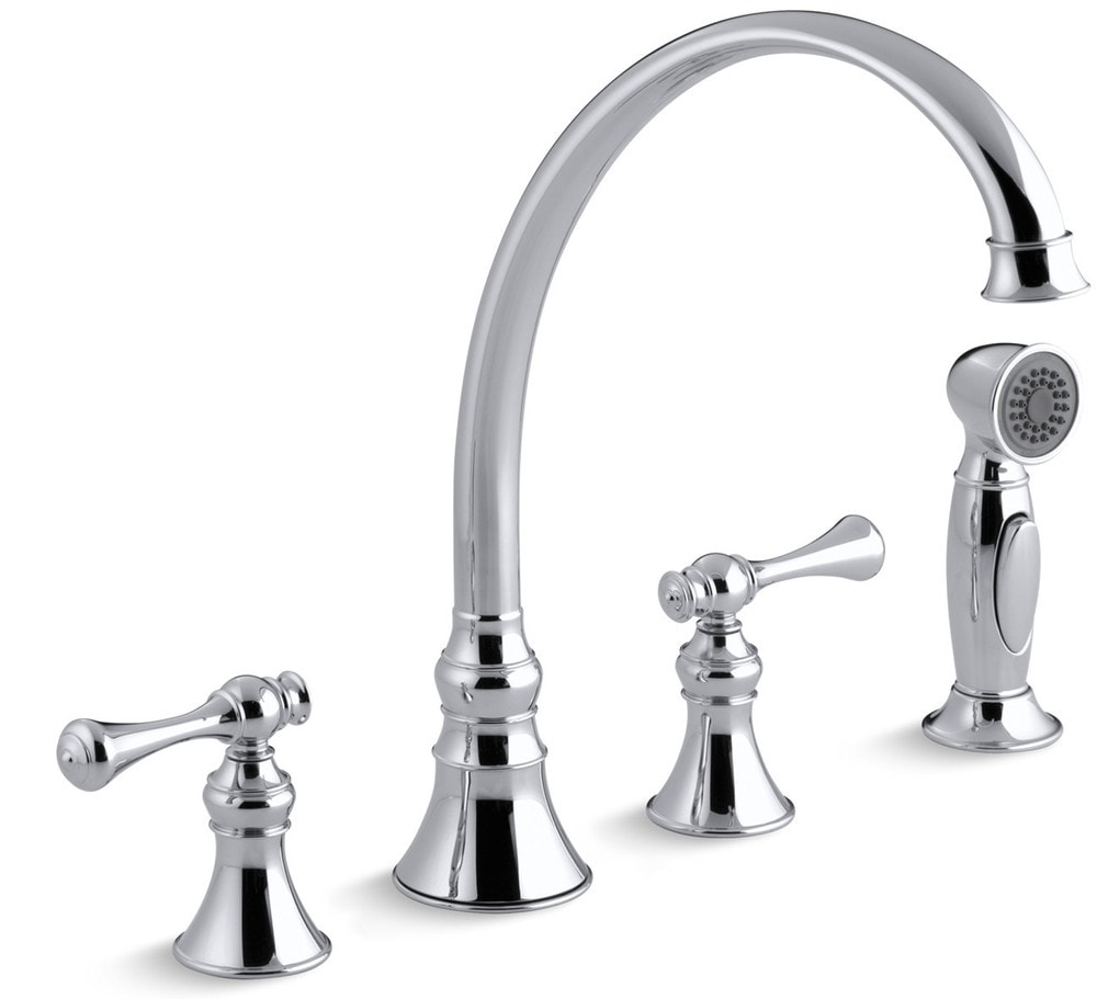Kohler Revival Double Handle With Side Spray Kitchen