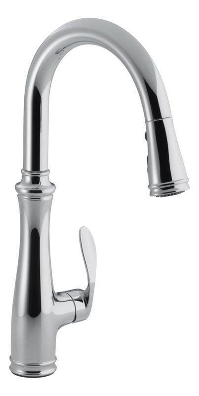 Kohler bellera pulldown kitchen sink with docking system for Kitchen faucet recommendations