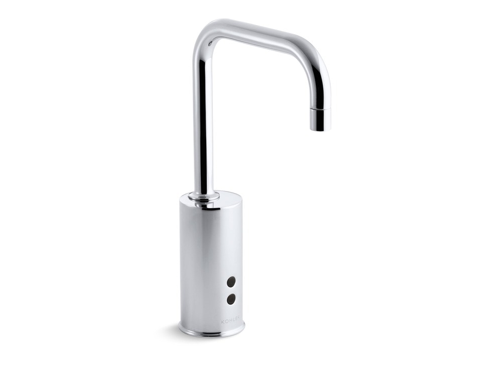 Kohler Touchless Single Hole Without Drain Or Handles Bathroom Faucet Polished Chrome K 7518 Cp