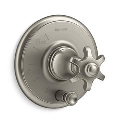 Kohler - Artifacts® ADA Pressure Balanced Shower Valve Trim, Diverter & Handle