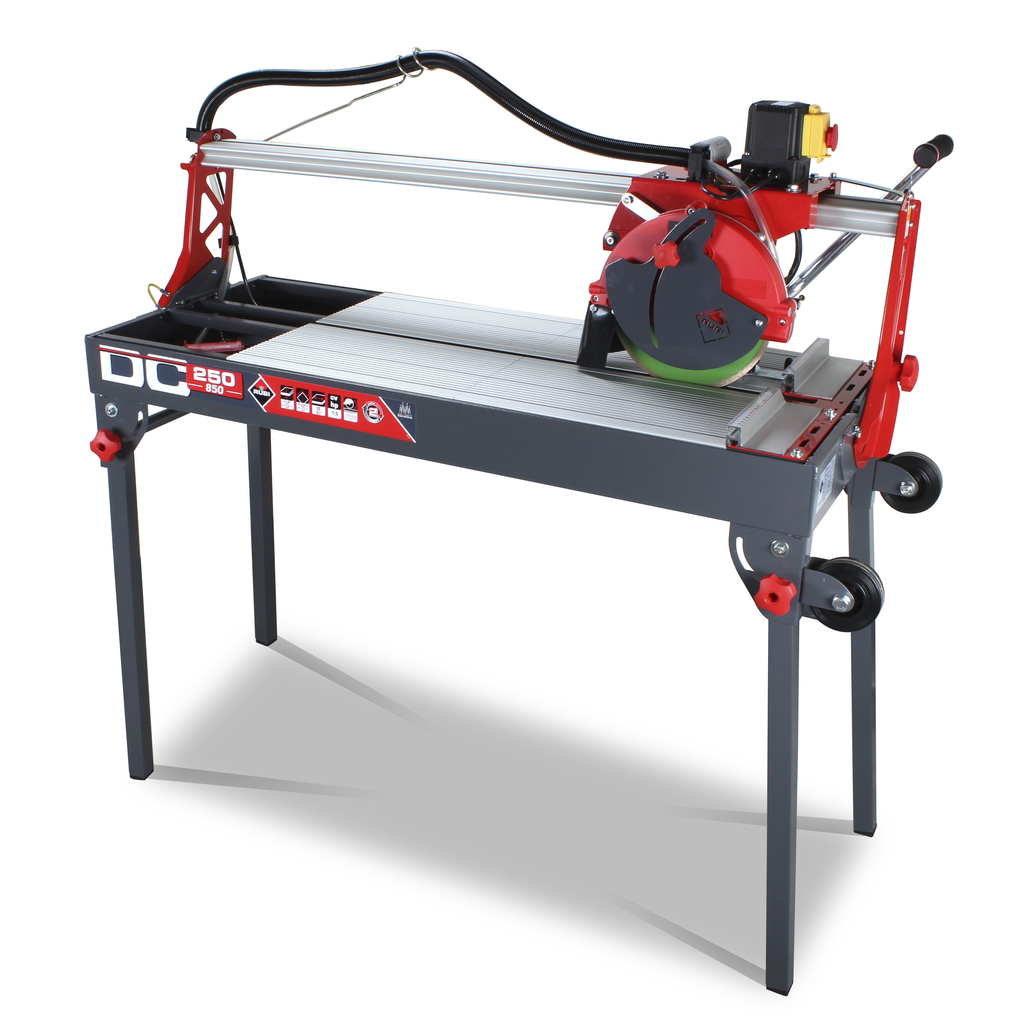 """DC-250-850 38"""" Wet Saw Wet Tile Saw 0"""