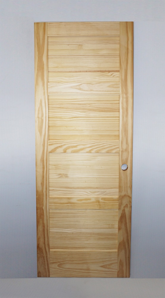 Woodport Doors Interior Doors Knock Down Shaker Collection Honey Dew Hickory 24 X80