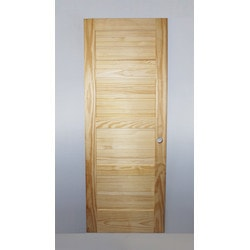 unfinished pre hung pine pine 24x80 reversible unfinished - Interior Doors