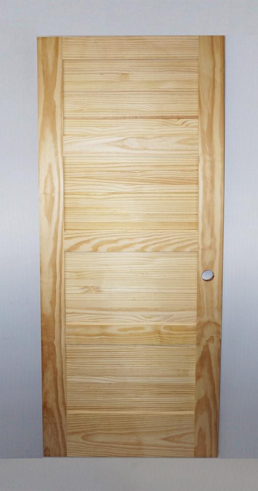 Golden Elite Doors Unfinished Pre Hung Pine Pine 30x80