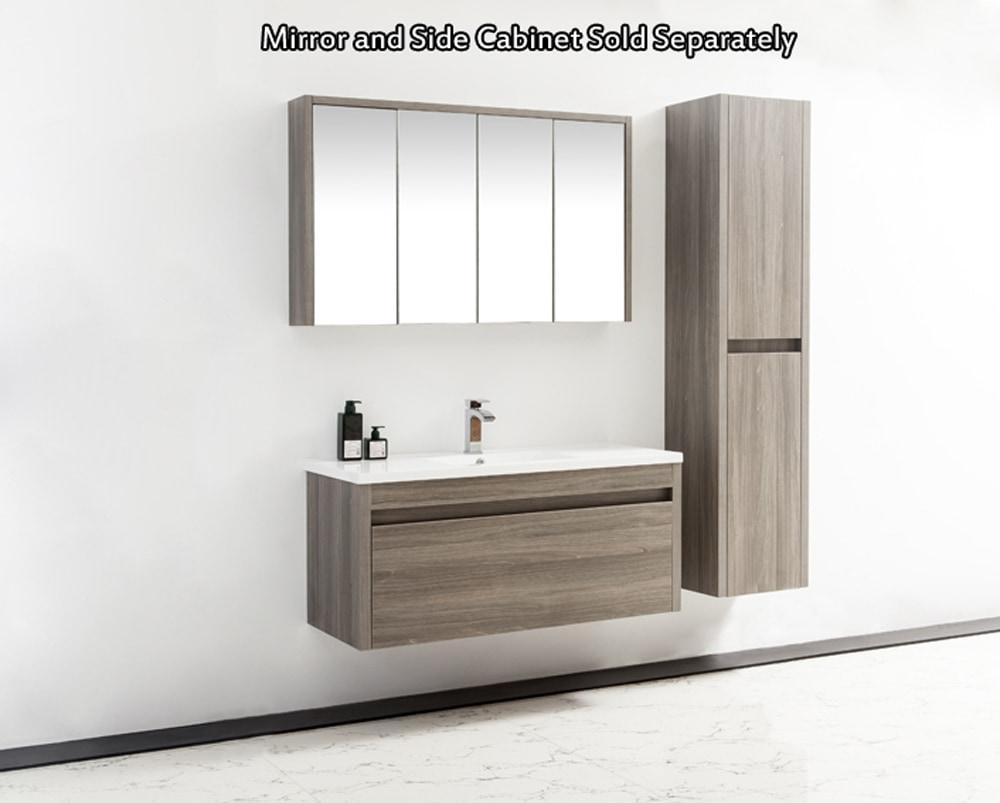 Golden Elite Cabinets Bathroom Vanities - Labrador Maple Grey ...