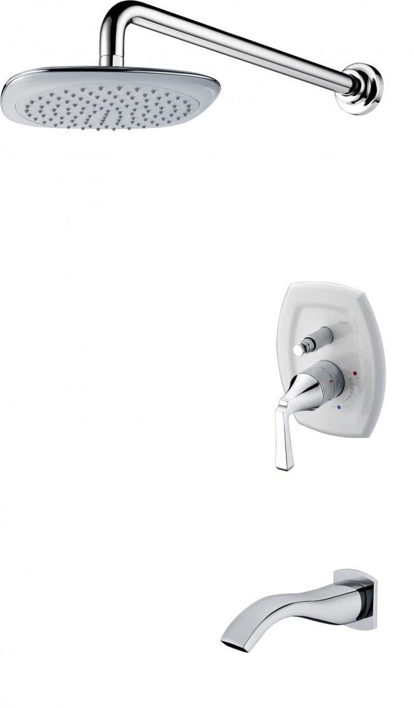 Aspen / Lead-Free / Ceramic Cartridge / Chrome Shower Faucets 0